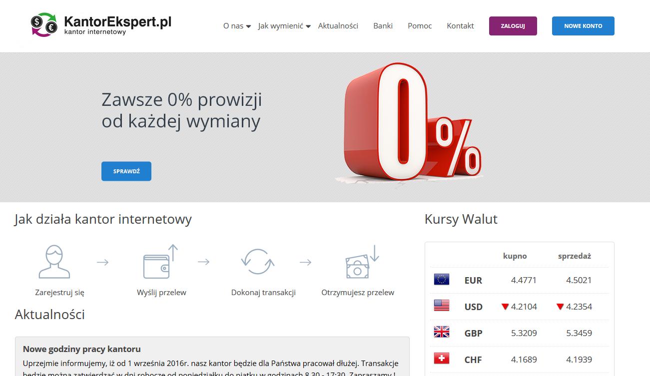 Informacje i opinie o kantorze wymianie walut - KantorEkspert